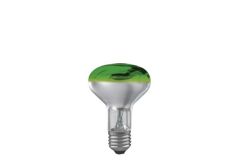 Paulmann Reflektorová žárovka E27 60 W zelená