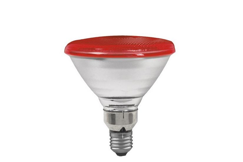 Paulmann Reflektorová žárovka E27 80 W červená