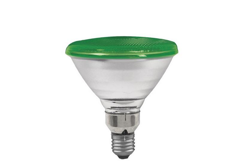 Paulmann Reflektorová žárovka E27 80 W zelená