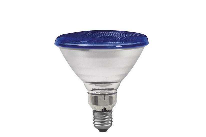 Paulmann Reflektorová žárovka E27 80 W modrá