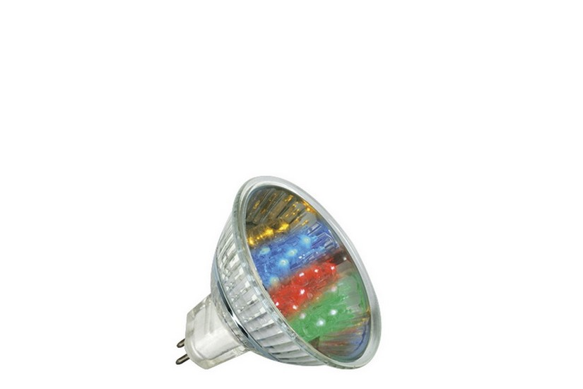 Paulmann LED žárovka GU5,3 1 W Multicolor