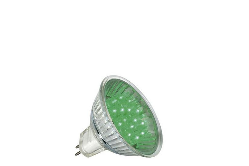Paulmann LED žárovka GU5,3 1 W zelená