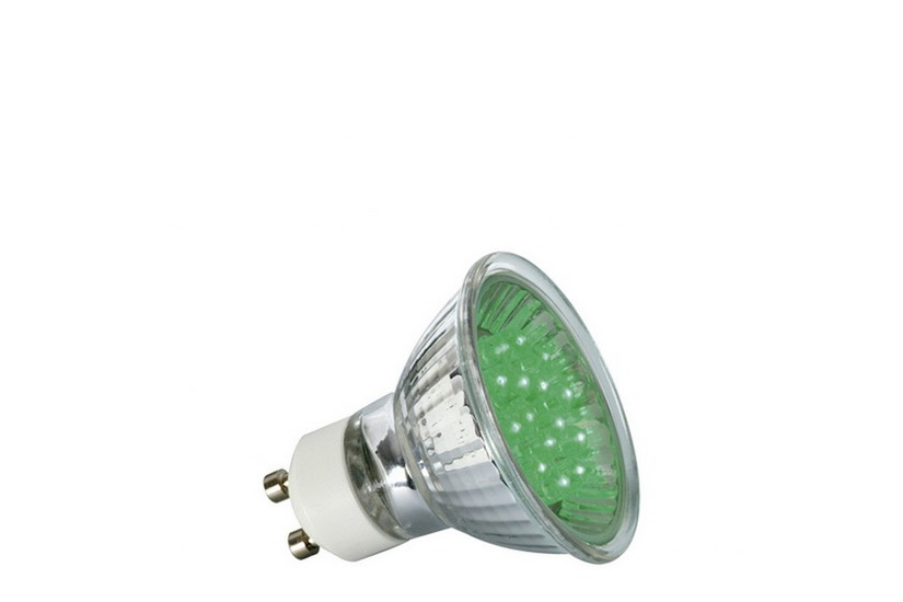 Paulmann LED žárovka GU10 1 W zelená