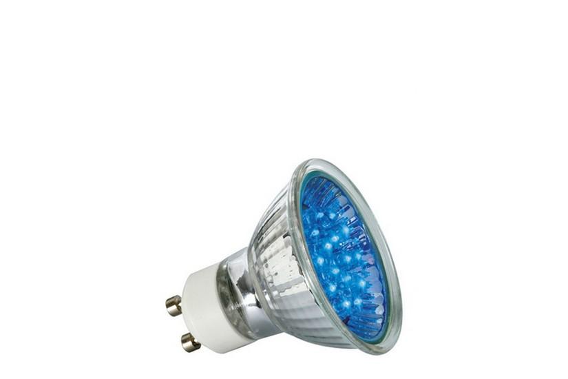 Paulmann LED žárovka GU10 1 W modrá