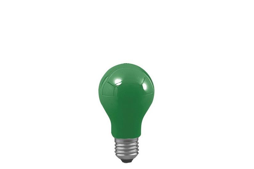 Paulmann Standardní žárovka E27 zelená