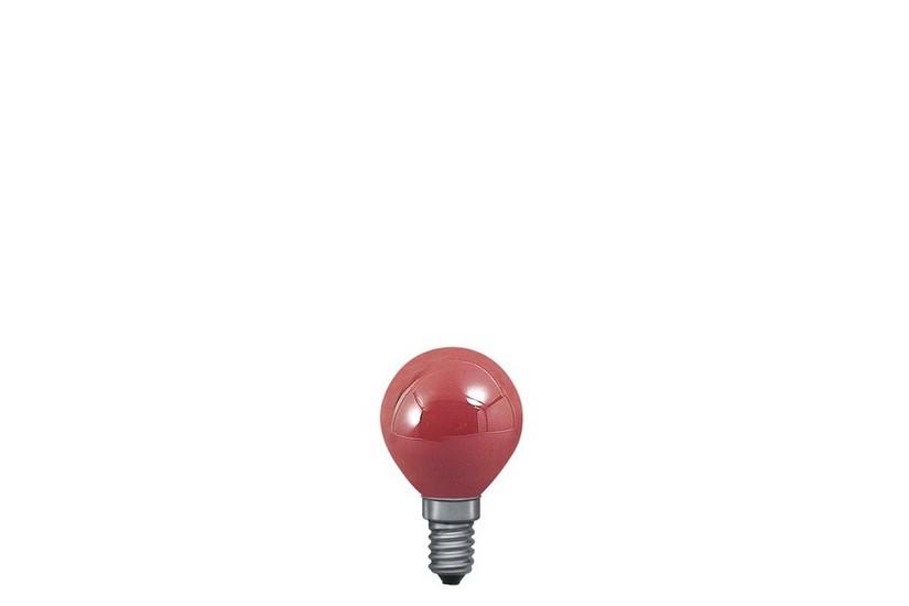 Paulmann Kapková žárovka E14 červená