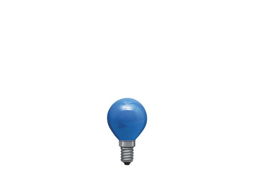 Paulmann Kapková žárovka E14 modrá