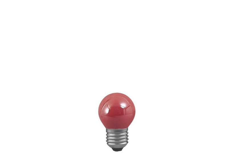 Paulmann Kapková žárovka E27 25W červená