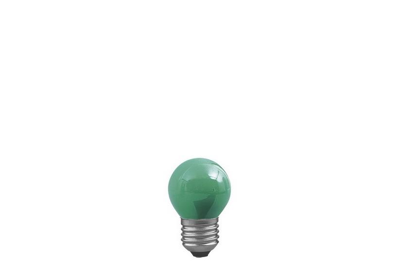 Paulmann Kapková žárovka E27 zelená