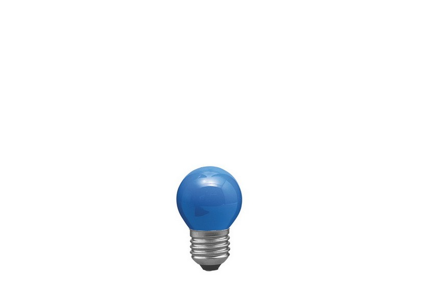 Paulmann Kapková žárovka E27 modrá