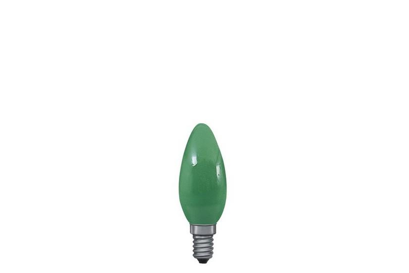 Paulmann Svíčková žárovka E14 zelená