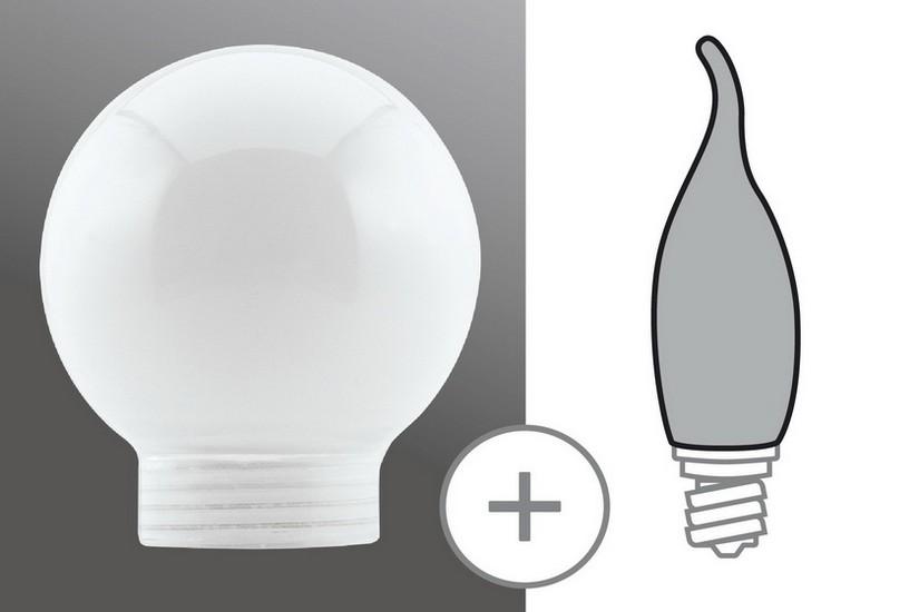 Paulmann Halogenová žárovka opál