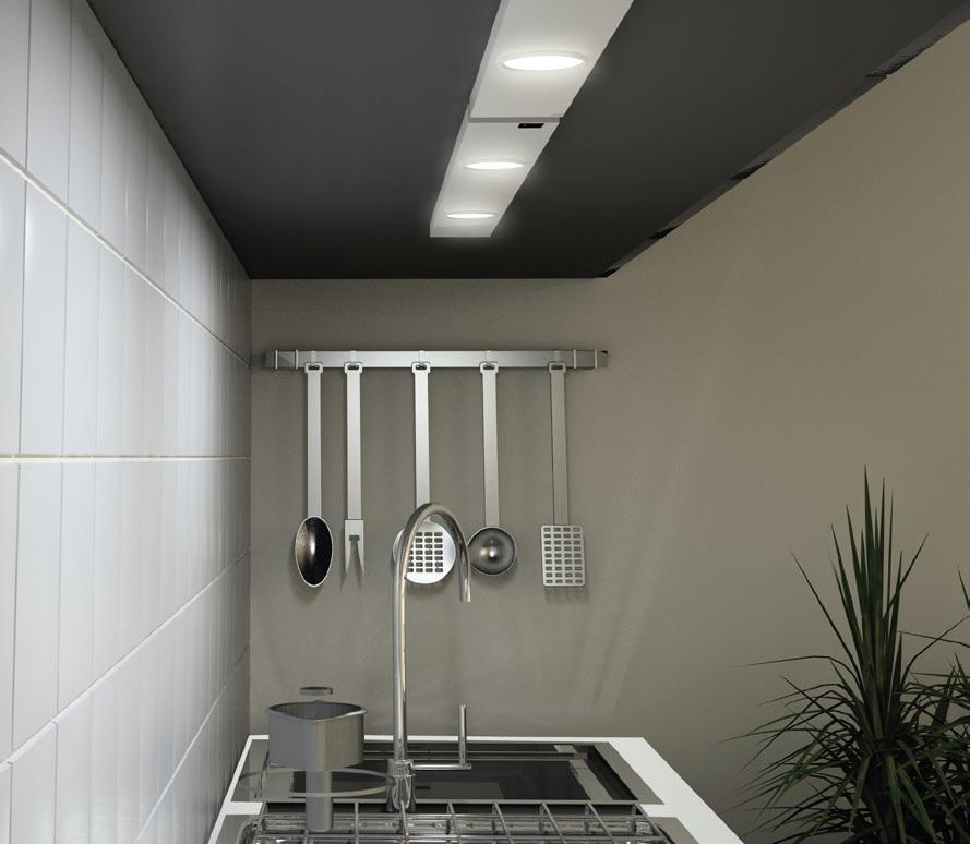 PANLUX BL324S/CH DAERON kuchyňské svítidlo nejen ke kuchyňské lince