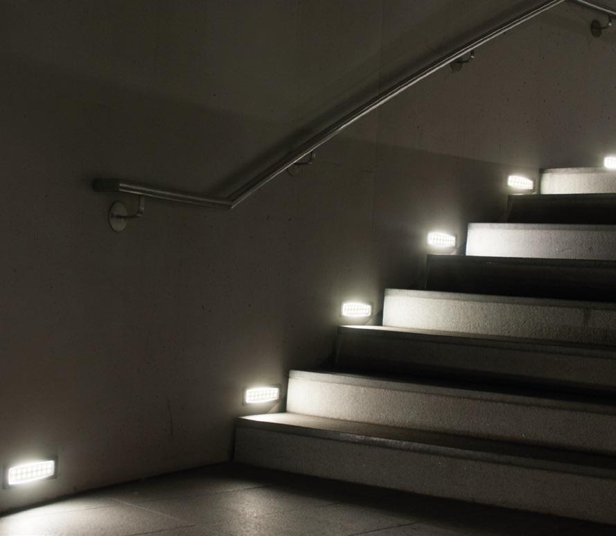 PANLUX ID-A04/S INDEX venkovní svítidlo vestavné nejen ke schodům, na terasu