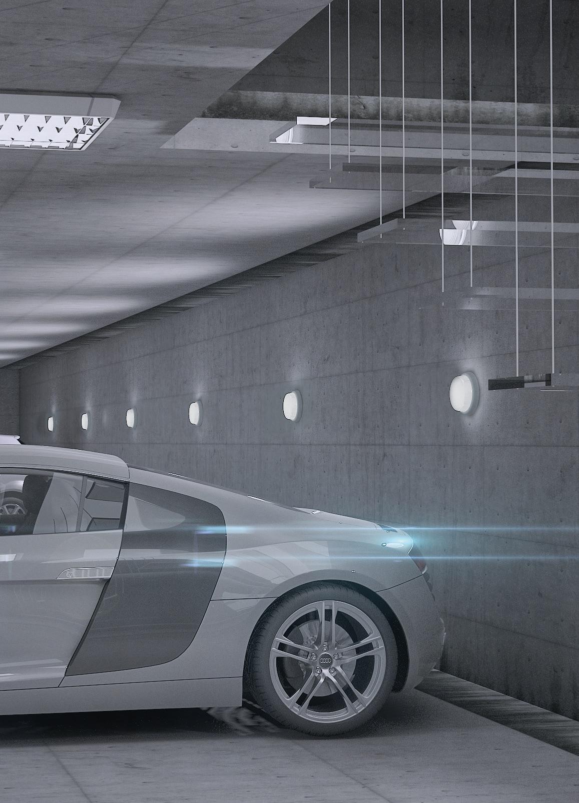 PANLUX SNG-100 GENTLEMAN průmyslové osvětlení nejen k bazénu
