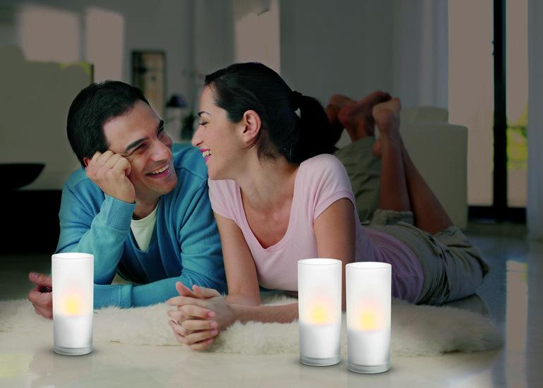 PHILIPS 6910860 CANDLELIGHT stolní lampa nejen do obýváku