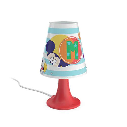 PHILIPS 717953016 Mickey Mouse dětská lampička + 3 roky záruka ZDARMA!