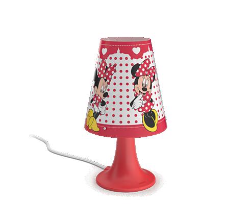 PHILIPS PH717953116 Dětská stolní lampa DISNEY MINNIE MOUSE LED/2,3W/230V - PHILIPS PH717953116 + 3 roky záruka ZDARMA!