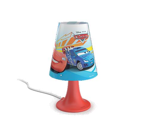 PHILIPS PH717953216 Cars Dětská lampička + 3 roky záruka ZDARMA!
