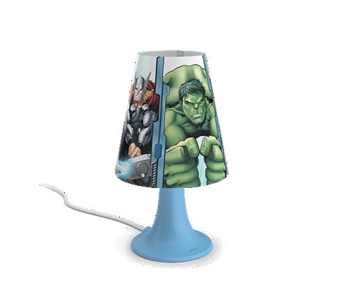PHILIPS PH717953616 Avengers Dětská lampička + 3 roky záruka ZDARMA!