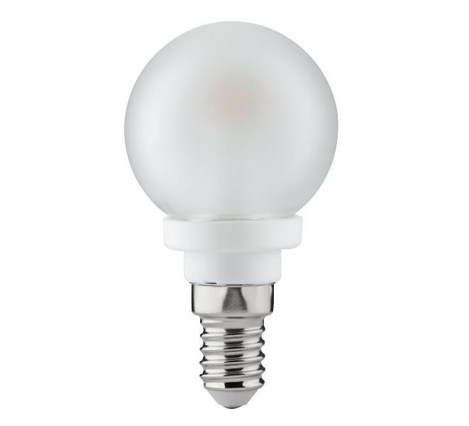 PAULMANN P 28321 LED žárovka E14 4W 80-89 Ra satin