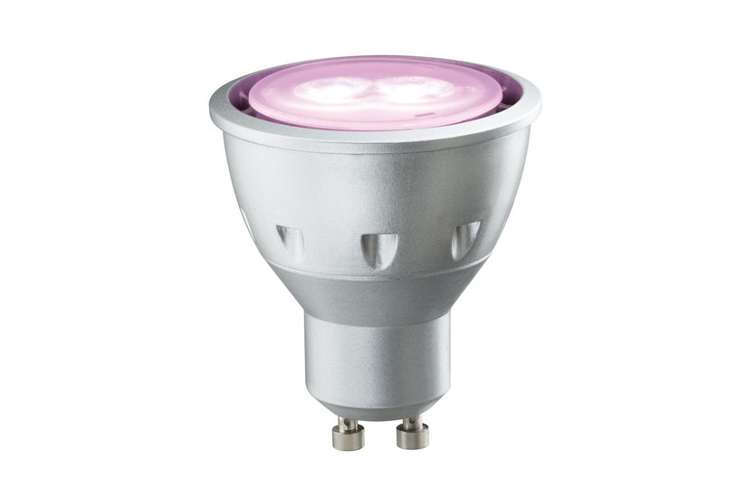 Paulmann LED žárovka GU10 5W růžová
