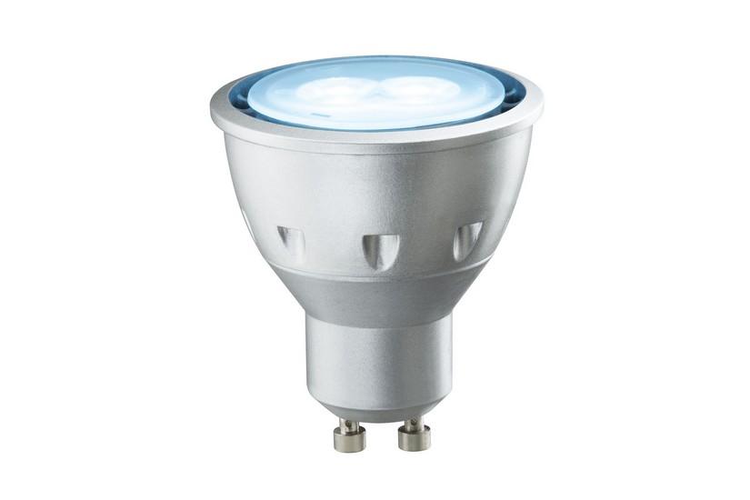 Paulmann LED žárovka GU10 5W ledová modrá