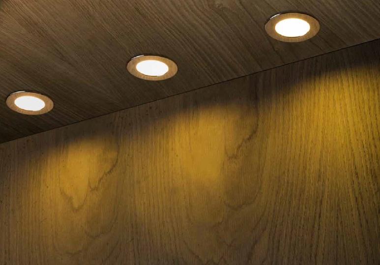 RENDL RED R10586  vestavné bodové svítidlo 230v nejen ke schodům, na terasu