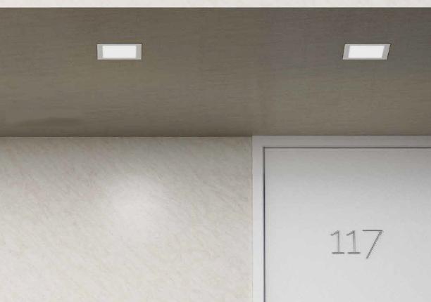 RENDL RED R12188 SLENDER vestavné bodové svítidlo 230v nejen do ložnice