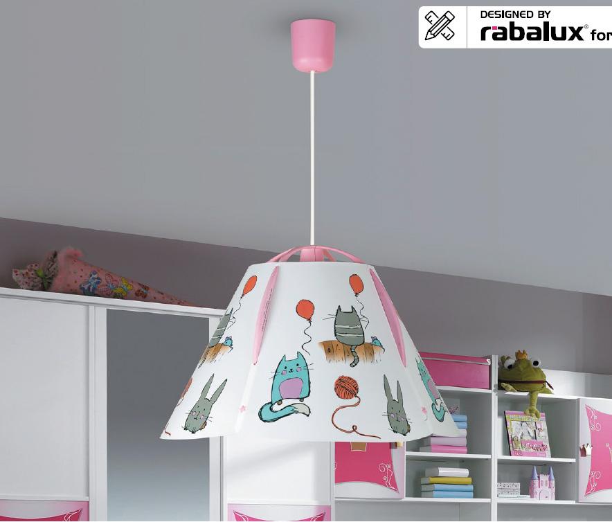 RABALUX 4567 Cathy dětský lustrdo dětského pokoje