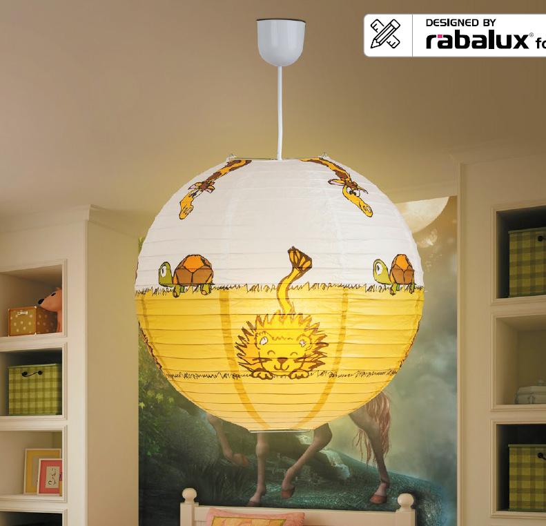 RABALUX 4633 Leon dětský lustrdo dětského pokoje