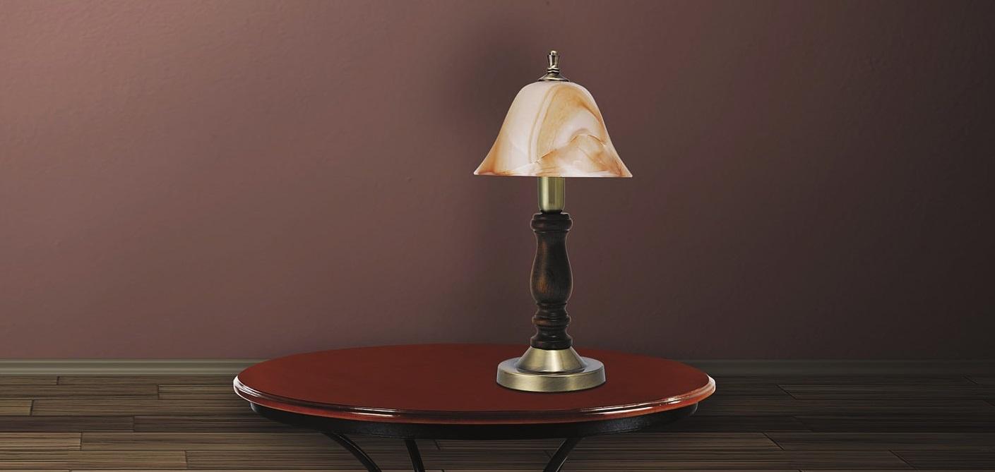 RABALUX 7092 Rustic 3 stolní lampa nejen do ložnice