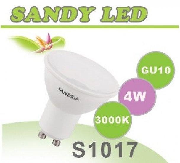 SANDRIA S1017 LED žárovka GU10 4W Teplá