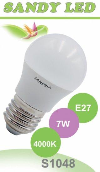 SANDRIA S1048 LED žárovka E27 7W Neutrální