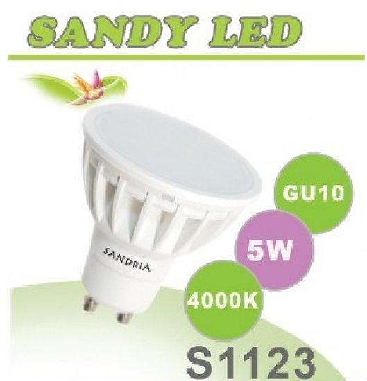 SANDRIA S1123 LED žárovka GU10 5W Neutrální