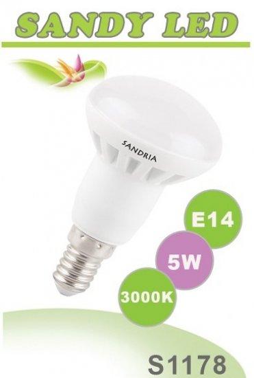 SANDRIA S1178 led žárovka E14 5W Teplá