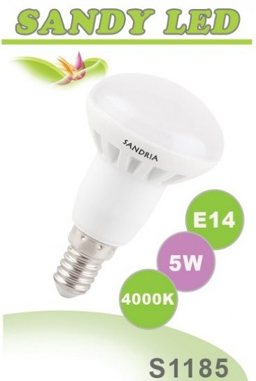 SANDRIA S1185 LED žárovka E14 5W Neutrální