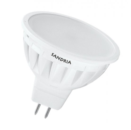 SANDRIA S1345 led žárovka MR16 4.5W Neutrální