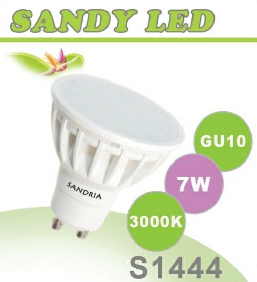 SANDRIA S1444 led žárovka GU10 7W Teplá