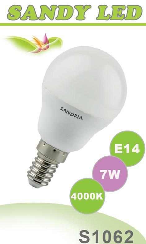 SANDRIA S1062 LED žárovka E14 7W Neutrální