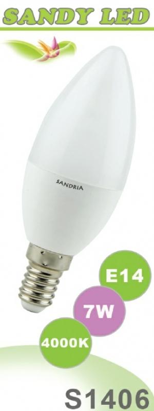SANDRIA S1406 led žárovka E14 7W Neutrální