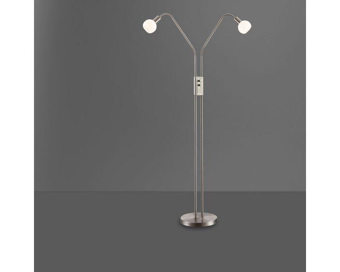 WOFI ACTION 307102640000 NOIS stojací lampa se stmívačem nejen do ložnice