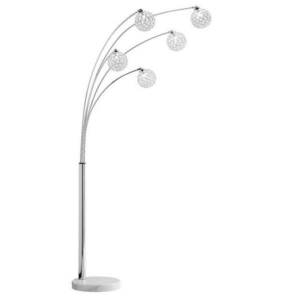 WOFI WO 356905010000 GENUA Stojací lampa se stmívačem + 3 roky záruka ZDARMA!