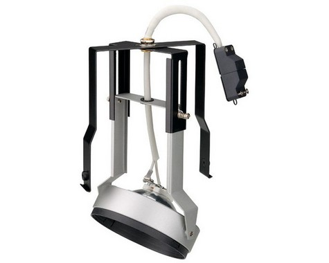 Zápustné svítidlo QRB MODUL pro Aixlight Pro kryt stříbrnošedá LA 115004