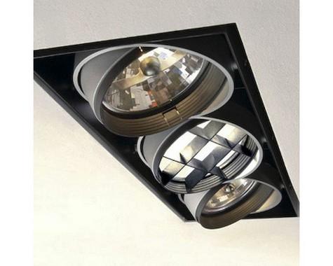 Zápustné svítidlo AIXLIGHT PRO III základní rám stříbrnošedá LA 115124