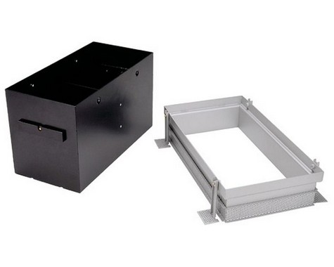 Zápustné svítidlo AIXLIGHT PRO II frameless kryt vč. mont. sady SLV LA 115152