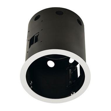 Zápustné svítidlo AIXLIGHT PRO FRAMELESS I kruhová kryt černá SLV LA 115674