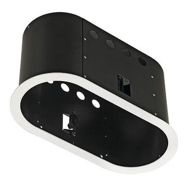 Zápustné svítidlo AIXLIGHT PRO PRO FRAMELESS II kruhová kryt černá SLV LA 115684