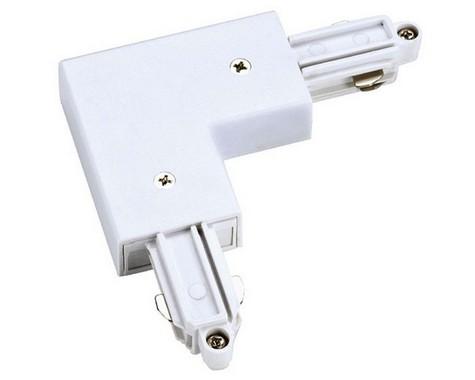L spoj pro jednookr. lištu vnitřní bílá 230V SLV LA 143061