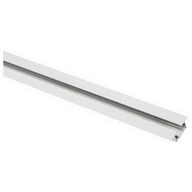 Systémové svítidlo JEDNOOKRUHOVÁ zápustná lišta 2m bílá 230V LA 143221